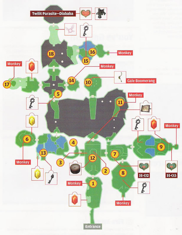 File:Forest Temple Map (Twilight Princess).png