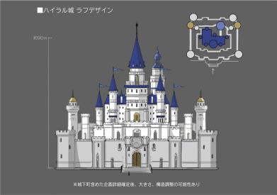 File:Hyrule Warriors Artwork Hyrule Castle (Final Concept Design).png