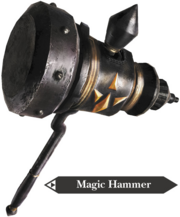 Hyrule Warriors Hammer Magic Hammer (Render)