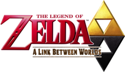 The Legend of Zelda - A Link Between Worlds (logo)