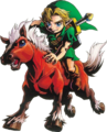 Link and Epona (Majora's Mask).png