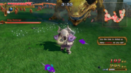 Hyrule Warriors Toon Zelda Rats (End Focus Spirit Attack)