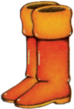 File:Pegasus Boots Artwork (A Link to the Past).png