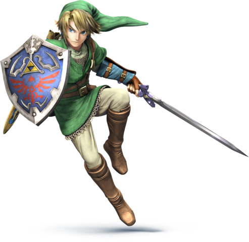 File:SSB4 - Link Artwork.png