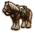 File:Hyrule Warriors Horse Twilight Epona (Level 2 Horse).png