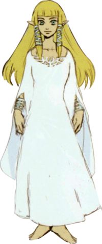 File:Skyward Sword Artwork Spirit Maiden Zelda - Hylia Robes (Concept Art).png