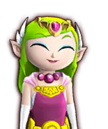 Hyrule Warriors Legends Toon Zelda Pretty Smile (Dialog Box Portrait)