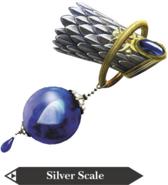 Hyrule Warriors Zora Scale Silver Scale (Render)