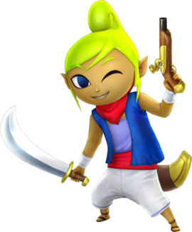 Tetra Saber & Pistol (Hyrule Warriors)