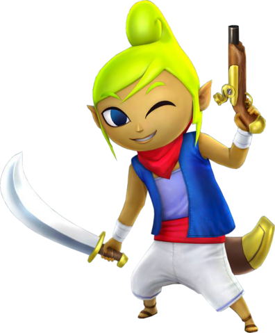 File:Tetra Saber & Pistol (Hyrule Warriors).png