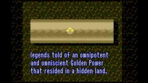 A Link to the Past Prologue
