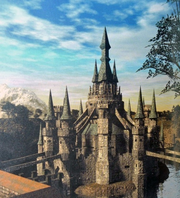 Hyrule Castle Artwork (Twilight Princess)