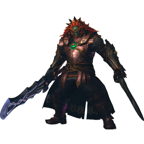 File:Hyrule Warriors Legends Ganondorf Standard Outfit (Master Quest - TWW Ganondorf).png