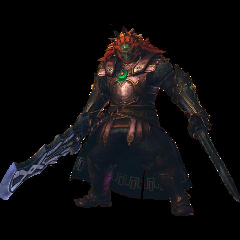 File:Hyrule Warriors Legends Ganondorf Standard Outfit (Master Quest - TWW Ganondorf).png