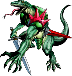 Lizalfos Artwork (Ocarina of Time)