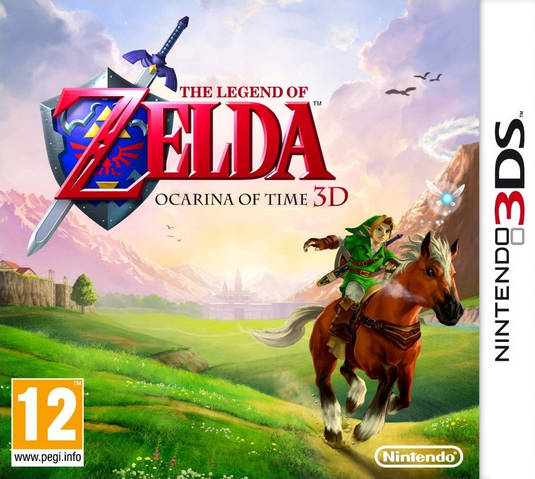 File:The Legend of Zelda - Ocarina of Time 3D (PAL).png