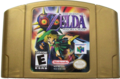 The Legend of Zelda - Majora's Mask Gold Cartridge.png