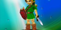 Young Link/Super Smash Bros.