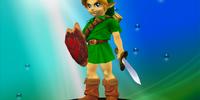Young Link/Super Smash Bros.