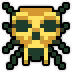 Hyrule Warriors 8-bit Sprites 8-Bit Gold Skulltula (Adventure Mode Sprite).png