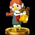 Super Smash Bros. for Wii U Sage of Earth Medli (The Wind Waker) Medli (Trophy).png