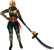 Hyrule Warriors Impa Standard Outfit (Twilight - Skyward Sword Impa Recolor)