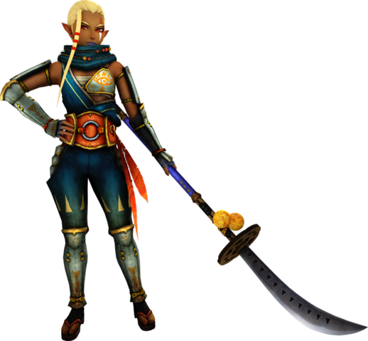 File:Hyrule Warriors Impa Standard Outfit (Twilight - Skyward Sword Impa Recolor).png