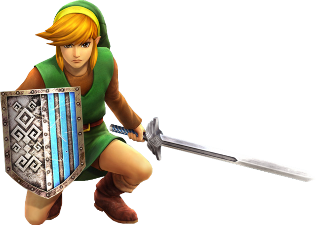 File:Hyrule Warriors Link Classic Tunic (DLC Costume).png
