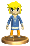 Super Smash Bros. Brawl Toon Link Outset Link (Trophy)