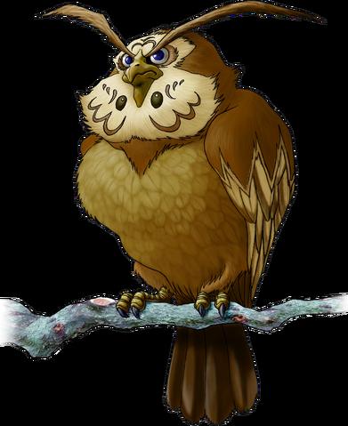 File:Kaepora Gaebora Artwork (Ocarina of Time).png