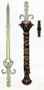 Twilight Princess Artwork Sword of the Six Sages (Concept Artwork - Hyrule Historia)