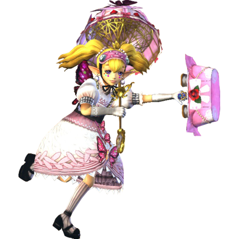 File:Hyrule Warriors Agitha Standard Outfit (Sweet Lolita - Twilight Princess DLC).png