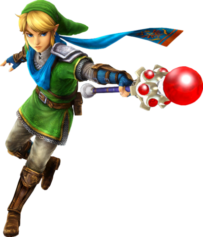 File:Link Magic Rod (Hyrule Warriors).png
