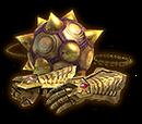 Golden Gauntlets