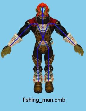 File:Majora's Mask 3D Fisherman Beta Ganondorf (Renders).png