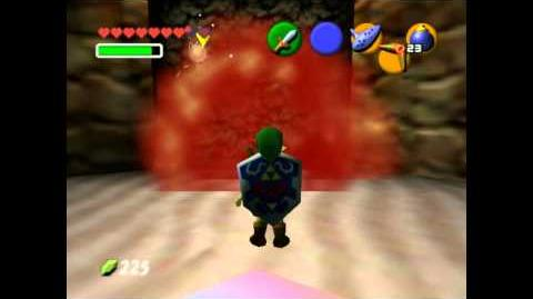 Legend of Zelda - Ocarina of Time glitch (How to get an infinite number of Gold skulltulas!)