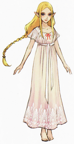 File:Hyrule Warriors Artwork Princess Zelda Nightgown (Concept Art).png