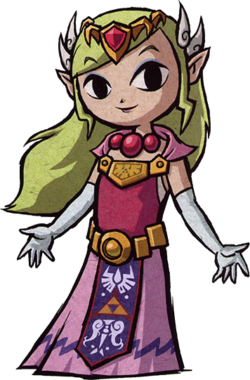 Image result for wind waker princess zelda png