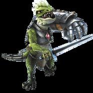 Hyrule Warriors Dragons Dinolfos (Render)