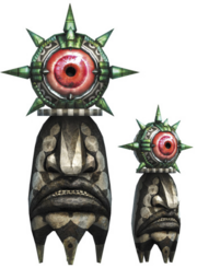 Hyrule Warriors Stationary Beamos (Render)