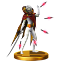 Super Smash Bros. for Wii U Demon Lord Ghirahim (Skyward Sword) Ghirahim (Trophy).png