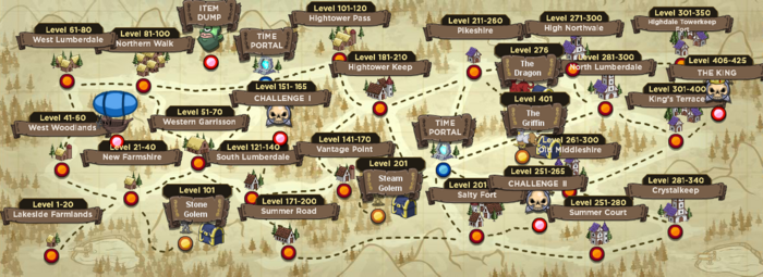Zombidle map
