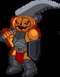 Halloween Pumpkin Warrior1