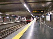 Metro Lisboa Lisbon Terreiro do Paco platforms