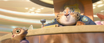 Frightened Clawhauser