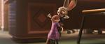 Mrs. Otterton hugs Judy Hopps