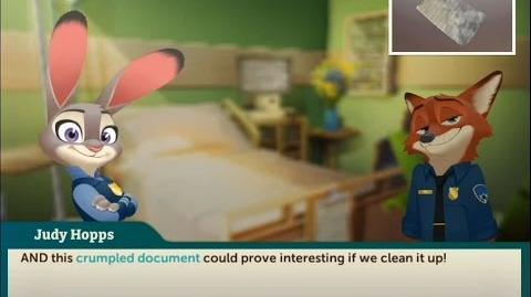 """Zootopia Crime Files V2 - 1x04 - Possum """"New Scanner feature"""" (Downtown)"""