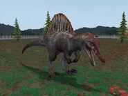 Spinosaurus in zt2