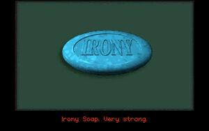 Irony soap