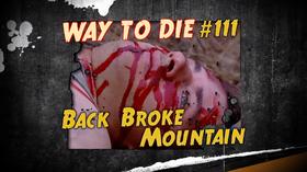 Back Broke Mountain